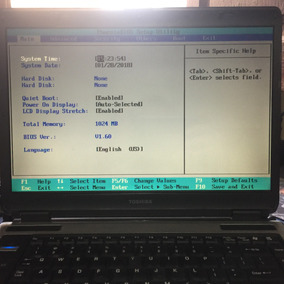 Notebook Toshiba A135 S4637 - Leia Todo O Anuncio