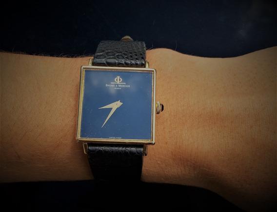 Relógio De Ouro 18kilates (baume & Mercier)