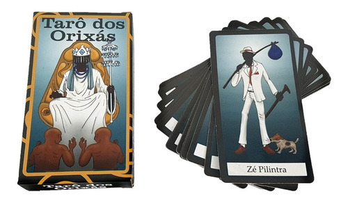 Tarô Dos Orixas Manual Baralho 22 Cartas Tarot Esoterico