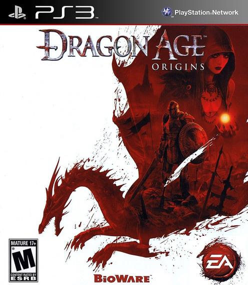 Dragon Age Origins - Jogo Ps3 Blu-ray Físico Usado Impecável