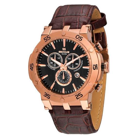Relógio Seculus Masculino Chronograph - 20060gpsgrc4