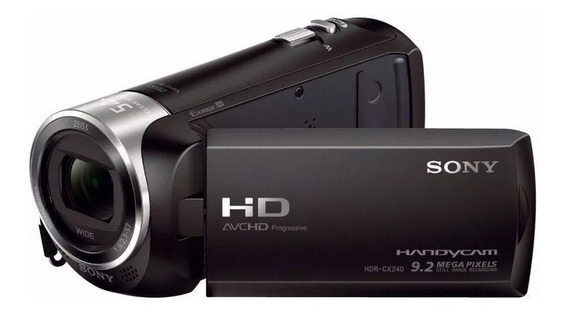 Filmadora+64gb C/10+bols+trip Sony Hdr-cx405 Full Hd Kit