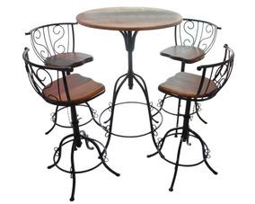 Mesa Para Sala De Jantar Apartamento Pequeno Com Cadeiras