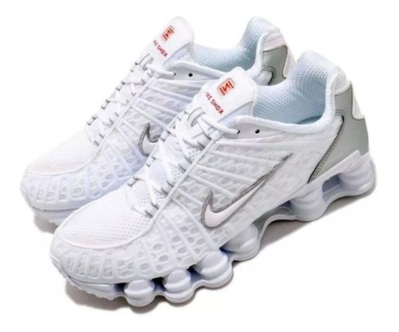 Tênis Nike 12 Molas Modelo Novo Branco