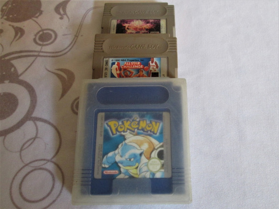 Pokémon Blue! Game Boy! Game Boy Color! Super Mario! Pokémon