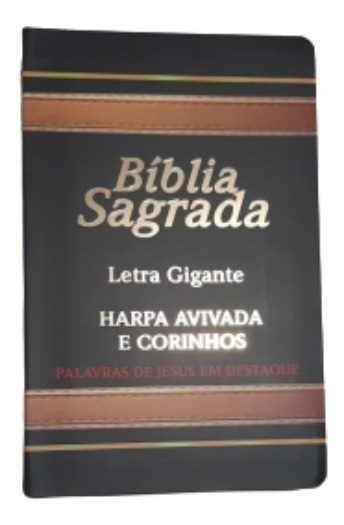 Bíblia Sagrada Letra Gigante Completa Antigo Novo Testamento