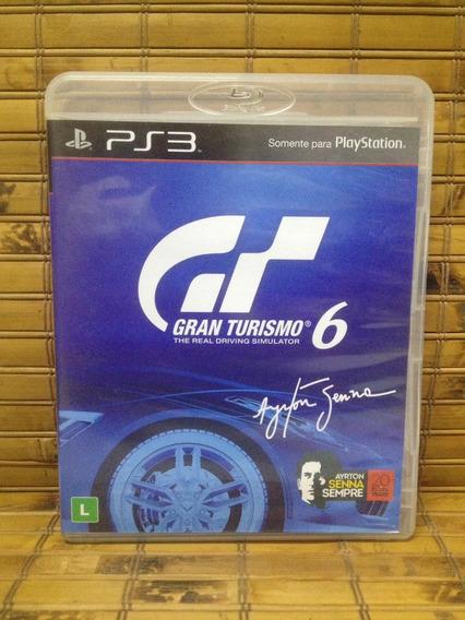 Jogo Ps3 - Gran Turismo 6 - Frete Barato