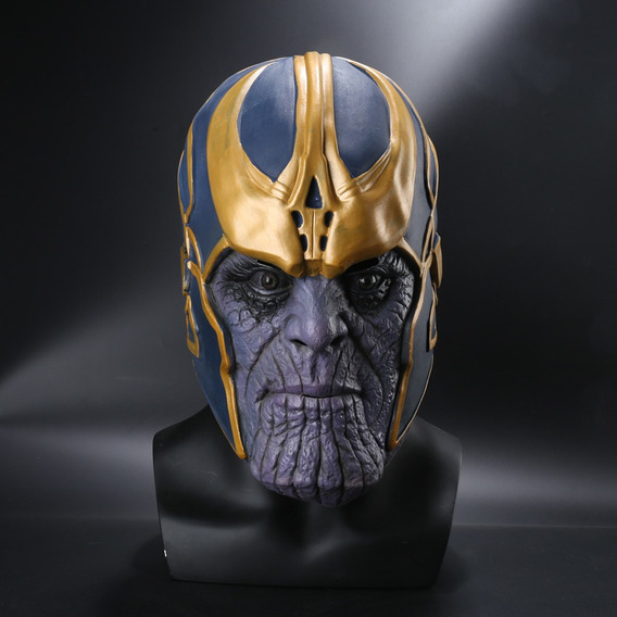Mascara Thanos Superheroes Villano Avengers Calidad Premium