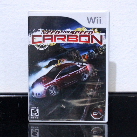 Jogo Wii Need For Speed Carbon Orig. Americano, Encartes Ok!