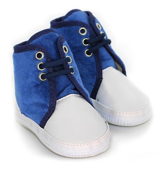 Bota Bebê Azul Unissex - Menino E Menina