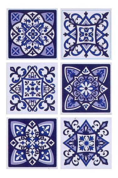 Wallstickers Azulejos Autoadhesivos Muresco 1623-1 15x15 Cm