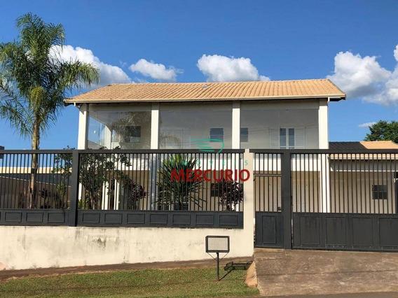 Chácara Com 6 Dormitórios À Venda, 2.000 M² Por R$ 1.850.000 - Ch0129
