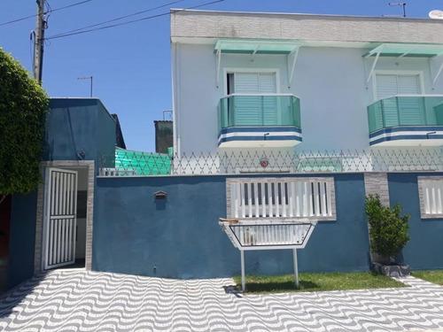 Imagem 1 de 15 de Casa Para Venda Em Mongaguá, Balneário Flórida Mirim, 2 Dormitórios, 2 Banheiros, 1 Vaga - 175_1-1176924