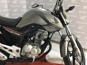 Honda Cg 160 Fan 2016 Prata Metalica Flex