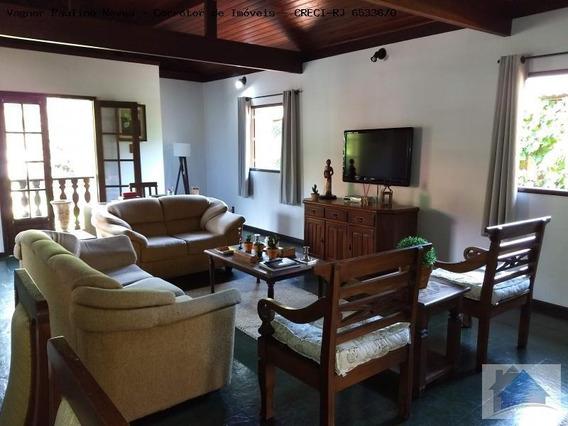 Casa Para Venda Em Areal, Fazenda Velha, 4 Dormitórios, 2 Suítes, 4 Banheiros, 2 Vagas - Cs-1190