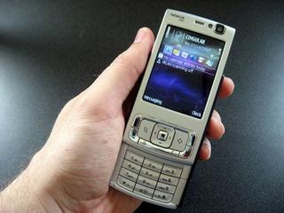 Nokia N95 Prata Usado Funcionando E Desbloqueado