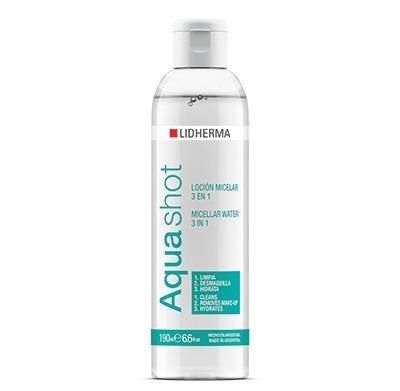 Promo Aquashot Loción Micelar De Limpieza 3 En 1 De Lidherma