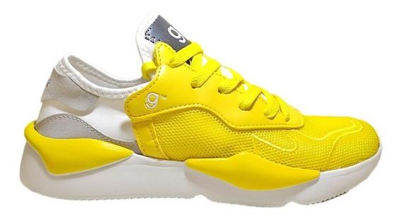 Zapatillas Deportivas Dama Gummi Space Amarillo N° 35 / 40