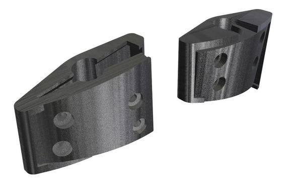 Kit 2 Lados Peça Dobradiça Reposição Fone Logitech G430 G930