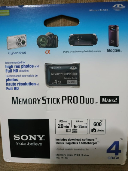 Memory Stick Sony 4gb