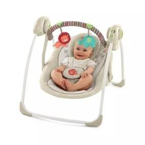 Cadeira De Balanço Para Bebê Automática Ingenuity/bege