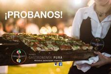 Servicio De Catering Gourmet/sabores/eventos/pizza Party