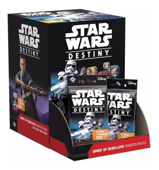 Star Wars Destiny - Espírito Da Rebelião - Booster Box