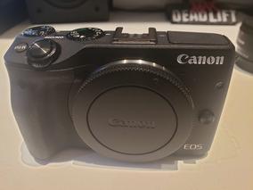 Câmera Eos M3 Semi Nova, Poucos Clicks