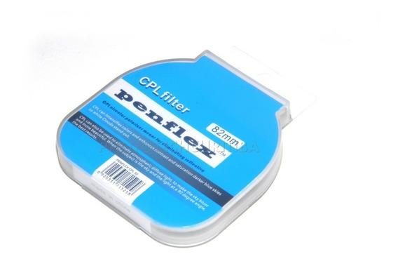 Filtro Polarizador 82mm Cpl Penflex Filtro Pl Filtro Cpl