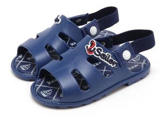 Sandália Pimpolho Colore Azul