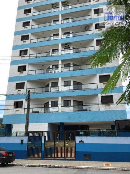 Kitnet Em Praia Grande, Sala Ampla Com Sacada., Cozinha,wc Social. Prédio Com Garagem, Elevador No Boqueirão Kn0132 - Kn0132