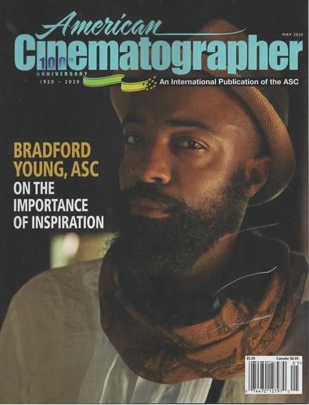 American Cinematographer - Revista Bradford Young