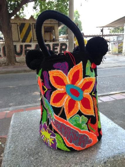 Espectacular Bolso Wayuu- 100% Original