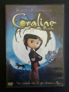 Pelicula Coraline Y La Puerta Secreta - Dvd Original
