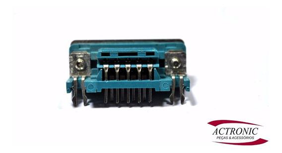 Conector Db9 Macho 90 Graus - Kit 5 Pçs