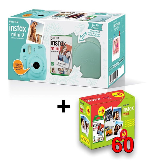 Câmera Instax Mini 9 Entrega + Rápida