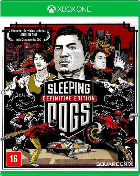 Sleeping Dogs Definitive Edition - Xbox One Midia Física