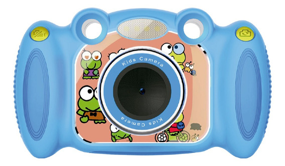 Mini Camera Fotográfica Infantil Fhd Tomate Mt-1096