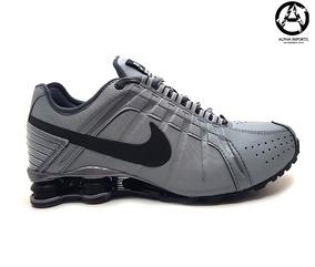 35f44328b84 Nike Shox Junior Cinza Com Prata Masculino - Tênis no Mercado Livre ...