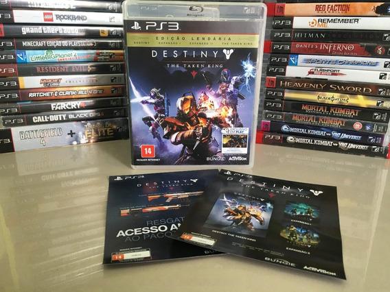 Destiny The Taken King Edição Lendária Ps3 Original Dvd