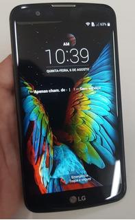 Celular LG K10 (4g Dual K430tv) - C/ Detalhe - Garantia