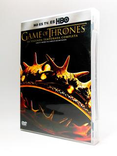 Dvd Game Of Thrones Temporada 2 (5 Discos) Juego De Tronos