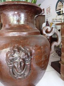 Ânfora Vaso De Deusa Em Ferro Fundido Decoração Jardim