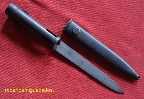 Sable Bayoneta Fal Tubular Exelente Sin Uso
