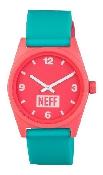 Relógio Neff Daily Rosa/menta