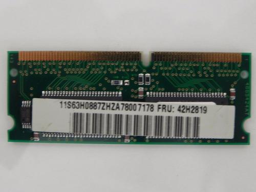 Imagem 1 de 2 de Ibm Memory - Thinkpad 600 770 390 32mb Pc66 Ram Fru # 42h281