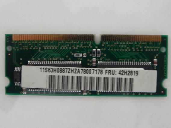 Ibm Memory - Thinkpad 600 770 390 32mb Pc66 Ram Fru # 42h281