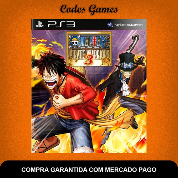 One Piece Pirate Warriors 3 - Ps3 - Pronta Entrega