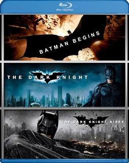 Batman The Dark Knight Trilogia Bluray Latino Nolan