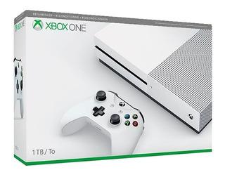 Consola Xbox One S Blanco 1tb Microsoft Factura. Garantía